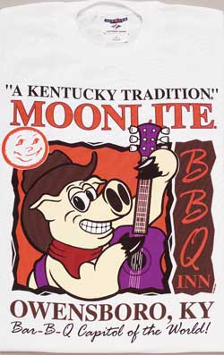 Moonlite Pig w/Guitar T-Shirt - Includes Shipping